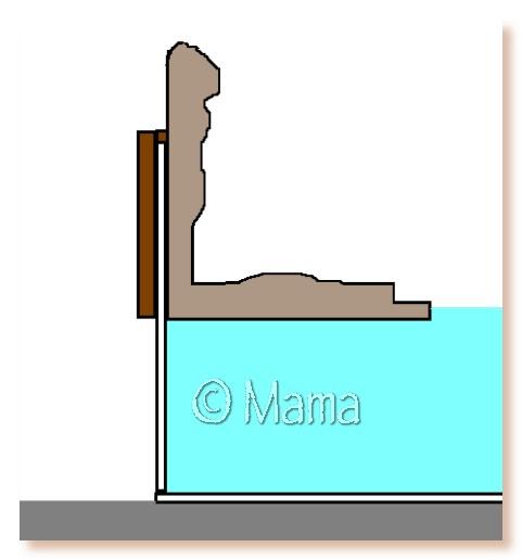 Confection d'une plage flottante (EPS + mortier hydrofuge) Iplage10