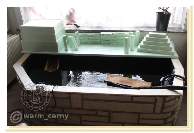 Exemples de bassins intérieurs pour aquatiques Warm0710