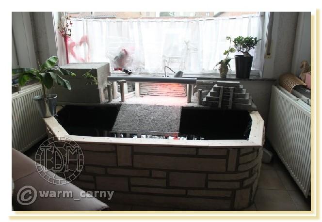 Exemples de bassins intérieurs pour aquatiques Warm1110