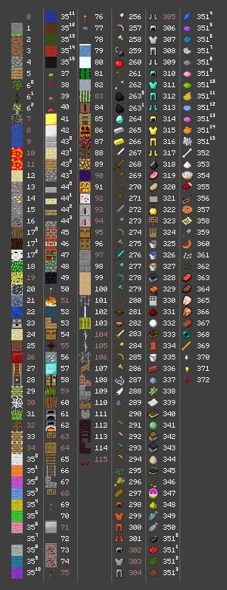 [Jeu PC / MMO] Minecraft Itemsl10