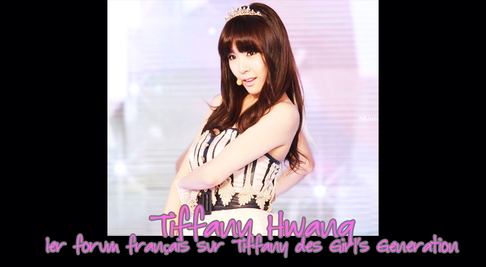 Tiffany Hwang Fansite