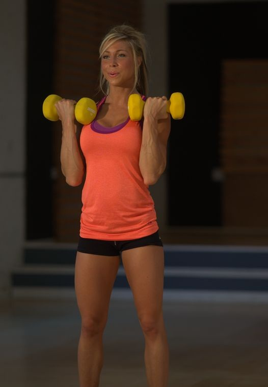 sara hadi -  Just finished shooting my new workout DVD =) G_dsc510