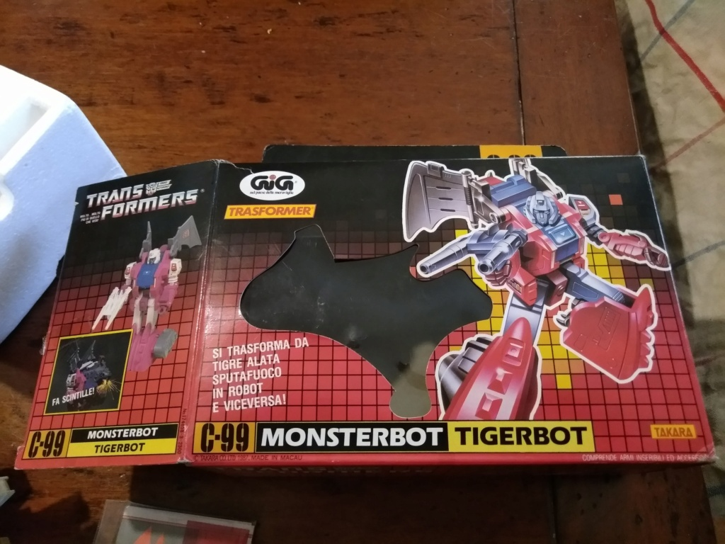monsterbot tigerbot c-99 in box P_202045