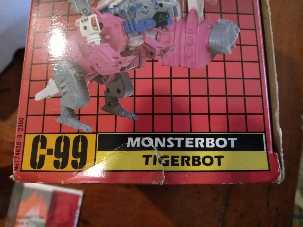 monsterbot tigerbot c-99 in box P_202047