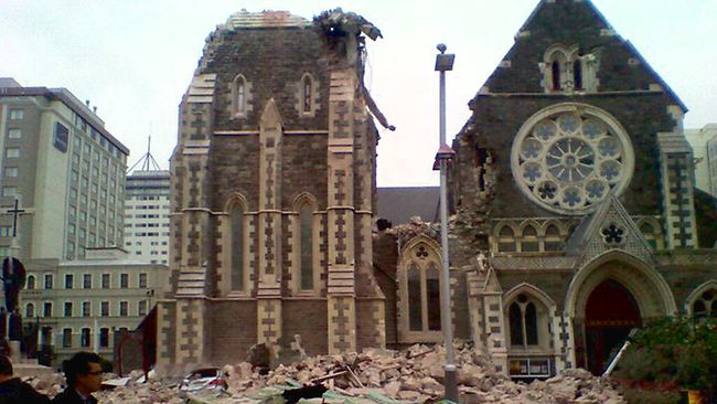 22.02.11 Earthquakes - A year on. Christ14