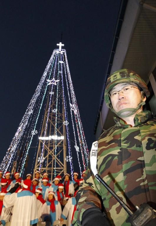 CORÉE – La guerre du sapin de Noël aura-t-elle lieu ? 000_hk10