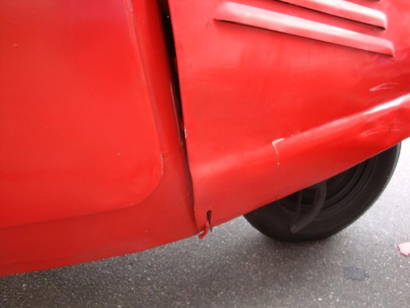 Unser prtischenwagen hatte heute einen Unfall........ :-(  Dsc04611
