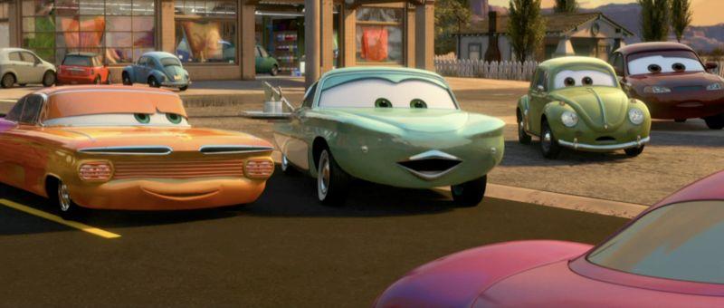La voiture du film Cars 2 que vous aimeriez voir en miniature Mattel ! I4075910