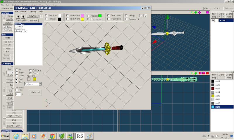 sword model for kakarot Lol310