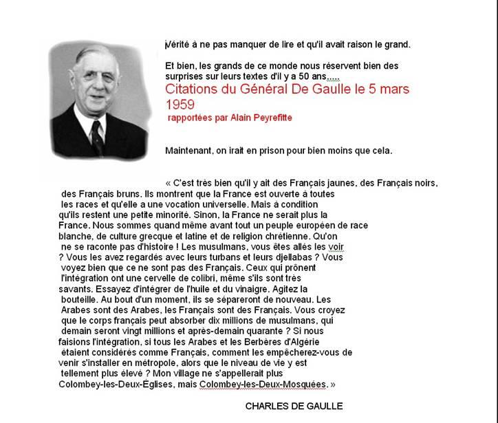 Le Général De Gaulle sur l'Immigration ! De_gau10