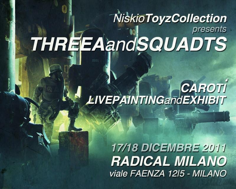 Niskio Toyz Collection Exhibition in Milan 17/18-12-2011 Niskio13