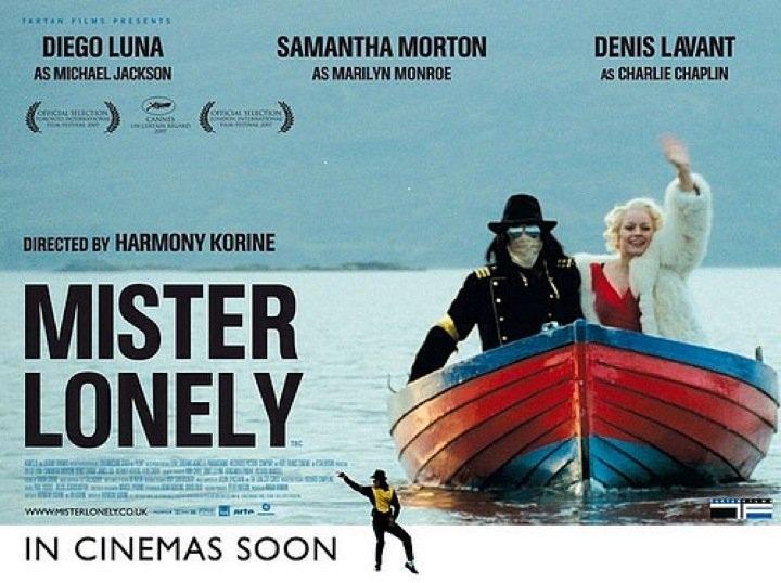 Trailer de Mister Lonely. film de Harmony Korine que trata de un joven que se gana la vida haciendo de doble de Michael. 28216710