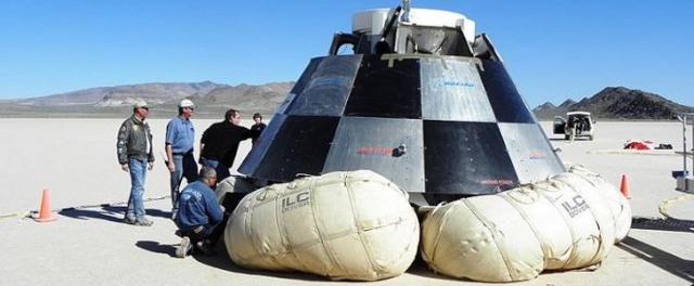 Procédés d'atterrissage des capsules spatiales  Boeing10