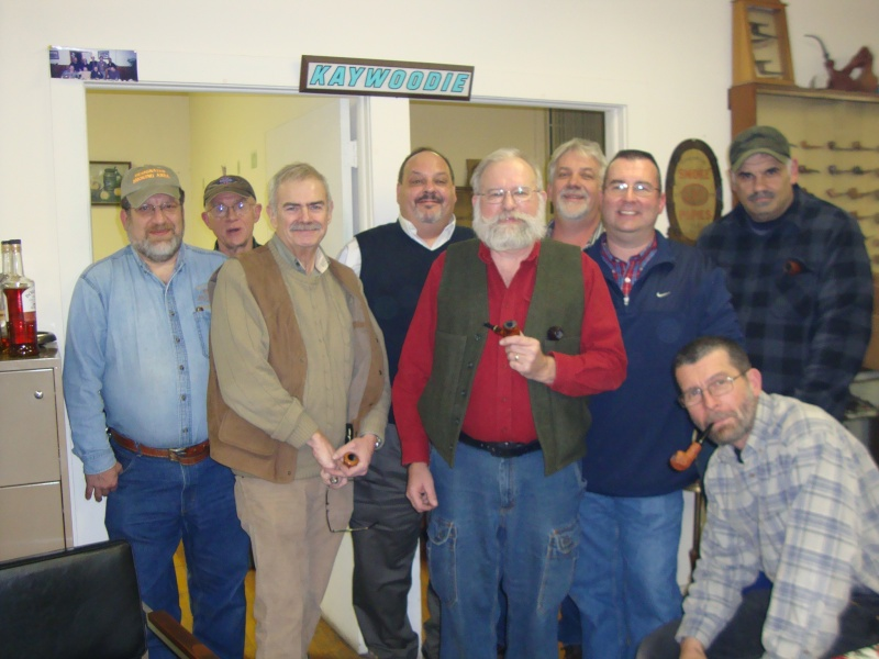 Kaywoodie Annual Christmas Pipe Fest Dsc08615