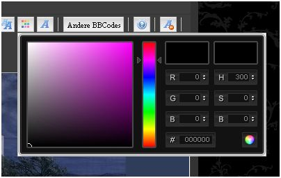 Funktion der Farbauswahl (Color Picker) 0110