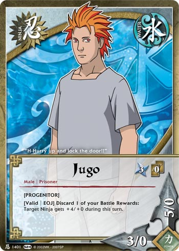 Naruto CCG Intercambio de Cartas N140110