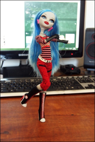 [Monster High] Ghoulia, future voodoll Dsc04417