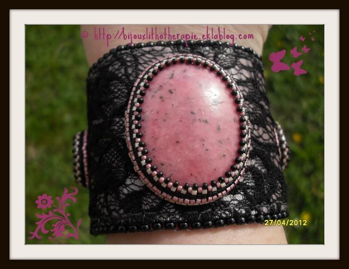 mes créations bijoux lithothérapie Broder11