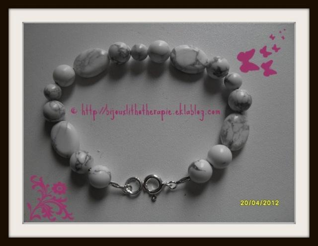 mes créations bijoux lithothérapie Howlit11