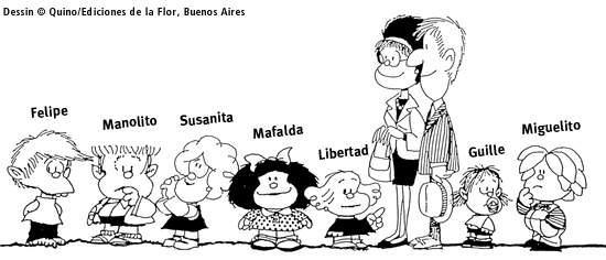 Mafalda de Quino Bande11