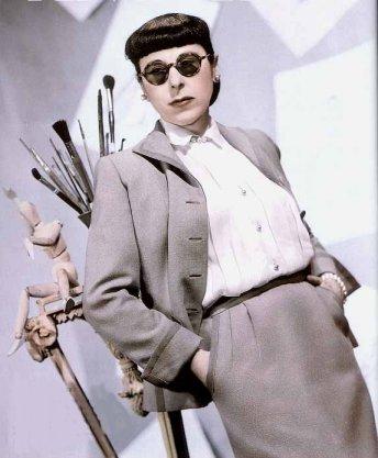 La mode dans le cinéma des années fifties.  Edith-10