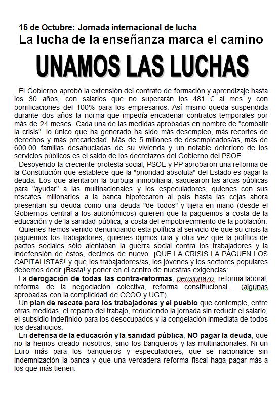 DESPIDOS UPS VALLECAS 06-10-10