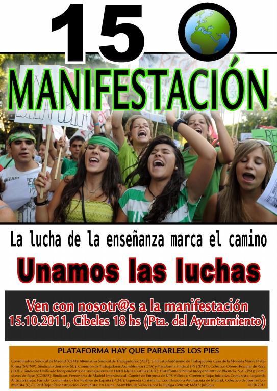 DESPIDOS UPS VALLECAS Cartel12