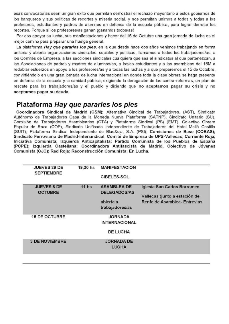DESPIDOS UPS VALLECAS Manife12
