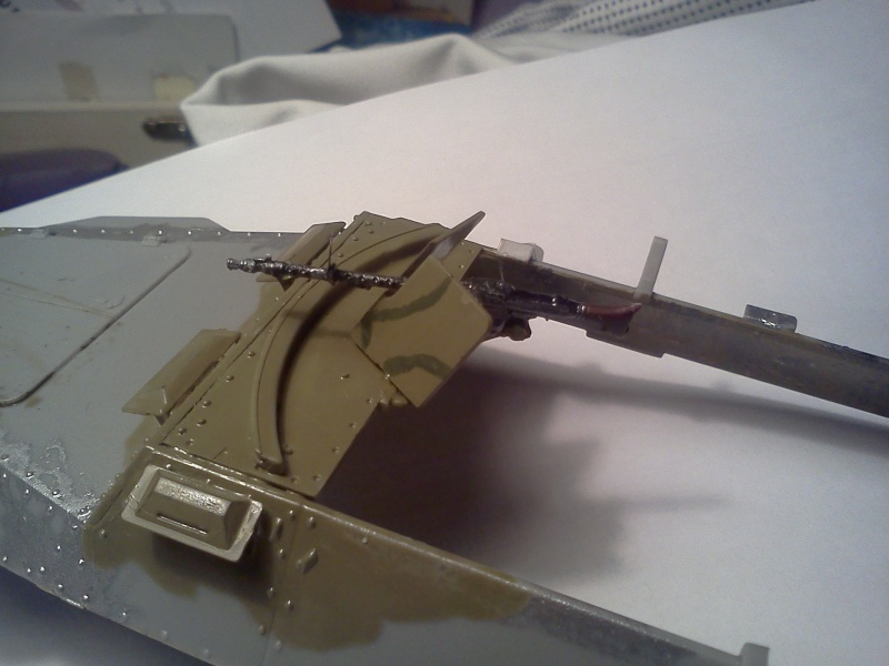 SdkFz 251/16 Ausf C Flammpanzerwagen - montage en cours Img07710