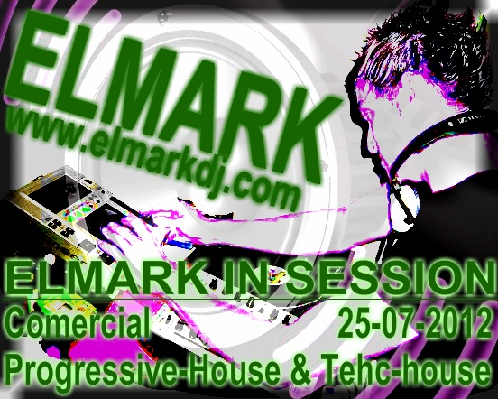 ELMARK Comercial Progressive-House & Tech-House 25-07-2012 Portad11
