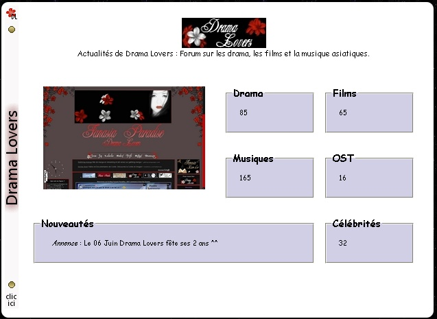 Interface du forum Tablea17