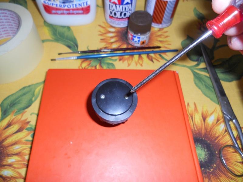 Preparazione Fungo Battle System Tamiya per Verniciatura. 00213