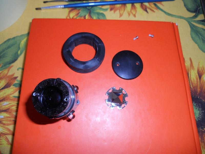 Preparazione Fungo Battle System Tamiya per Verniciatura. 00315
