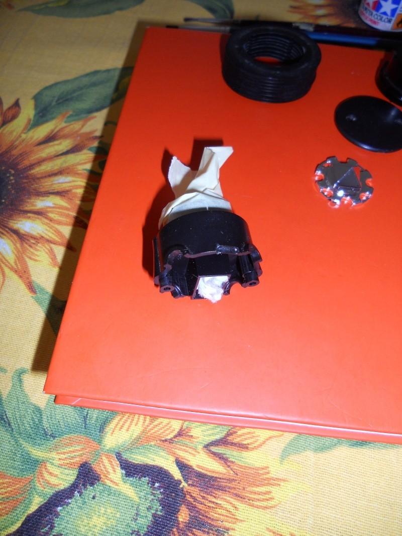 Preparazione Fungo Battle System Tamiya per Verniciatura. 00712