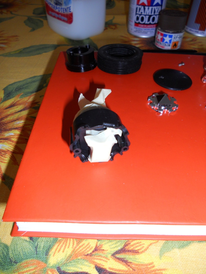 Preparazione Fungo Battle System Tamiya per Verniciatura. 00812