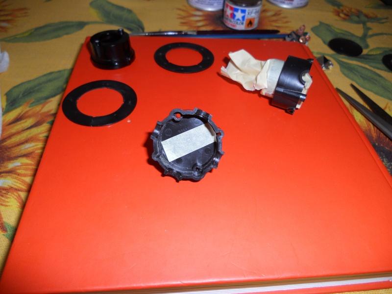Preparazione Fungo Battle System Tamiya per Verniciatura. 00912
