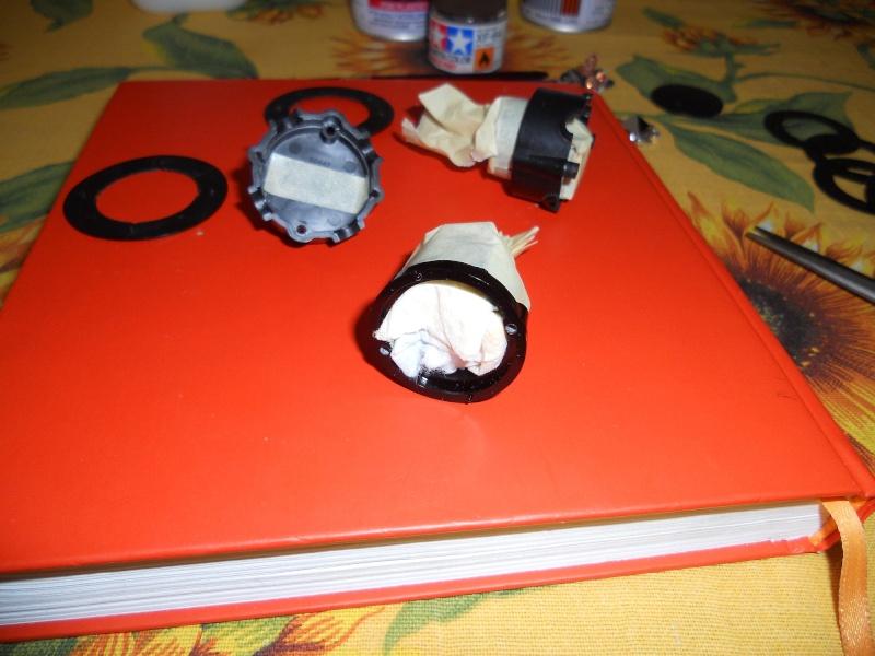 Preparazione Fungo Battle System Tamiya per Verniciatura. 01110