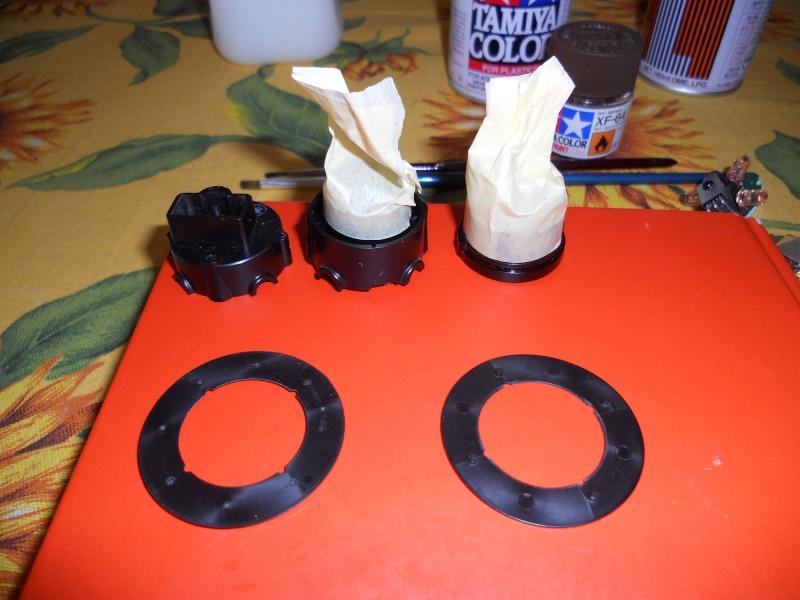 Preparazione Fungo Battle System Tamiya per Verniciatura. 01310