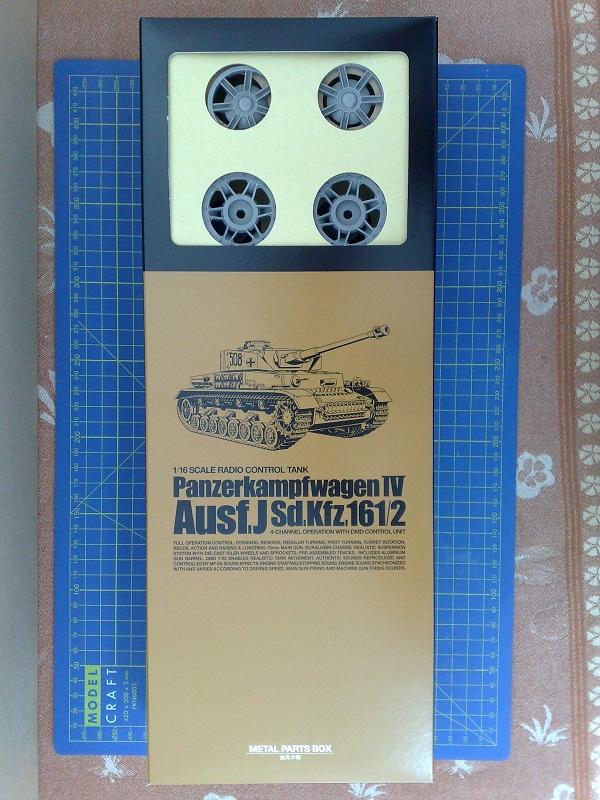 WIP Panzer IV Ausf J Tamiya di CPT America 02062014