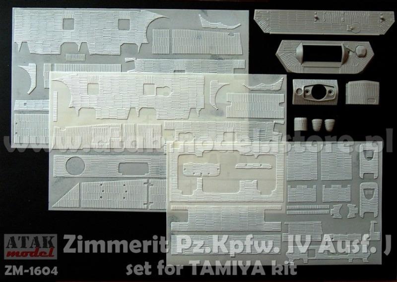 Novità Zimmerit Panzer IV 79001010