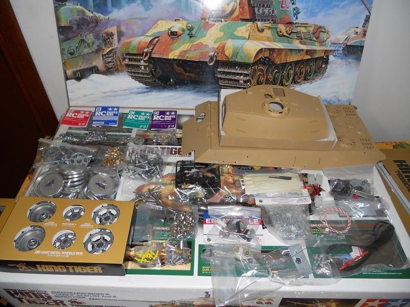 WIP Panzerkampfwagen VI Tiger II Ausf. B Königstiger Sd.Kfz.182 Tamiya di CPT America King_t13