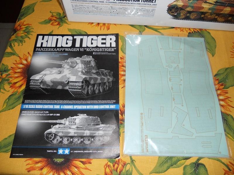 WIP Panzerkampfwagen VI Tiger II Ausf. B Königstiger Sd.Kfz.182 Tamiya di CPT America King_t17