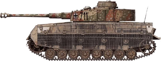 WIP Panzer IV Ausf J Tamiya di CPT America West_f10