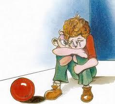 Pourquoi les enfants doivent-ils être si tristes ? Je demande au Pape qui parle avec Dieu de me l'expliquer. Enfant10