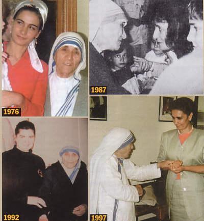 Mère Teresa, le Roi Baudouin...et Garabandal Mother10