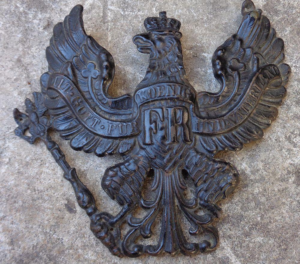 Plaque de casque allemand WWI ? Dsc00317