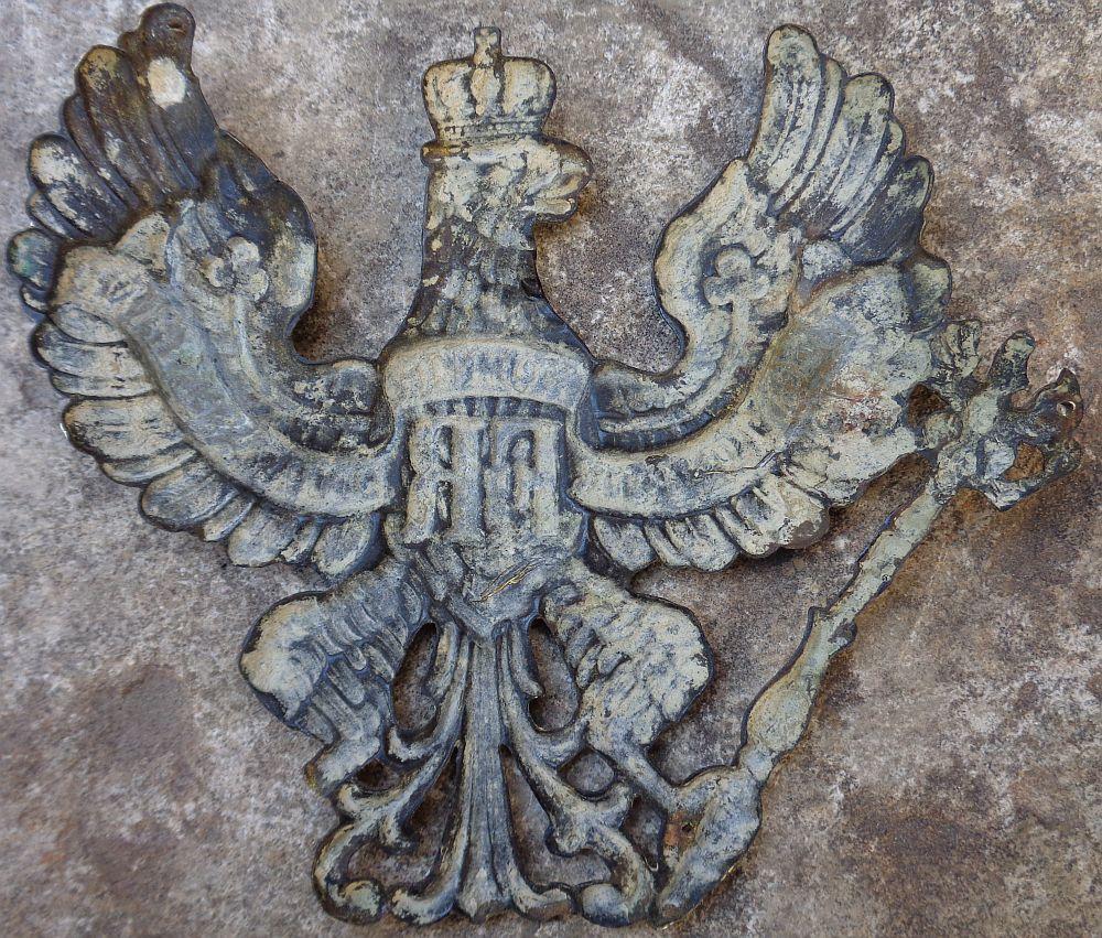 Plaque de casque allemand WWI ? Dsc00318