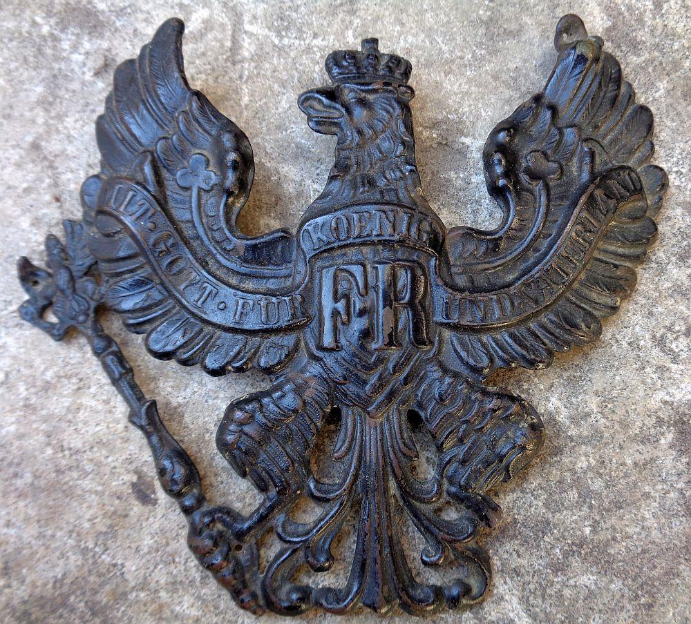 Plaque de casque allemand WWI ? Dsc00319