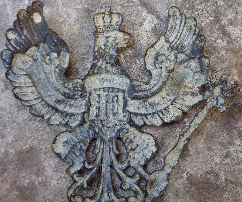 Plaque de casque allemand WWI ? Dsc00320