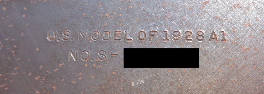 Les marquages sur la Thompson 1928A1 de Papy... ? Dsc01211